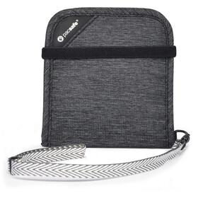 Pacsafe RFIDsafe V100 Bi-Fold Portemonnee, granite melange